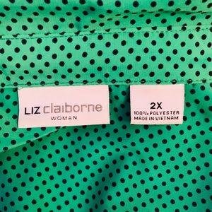Liz Claiborne Button Down 2X